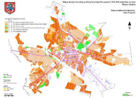 Mapa Akustyczna Miasta Siedlce